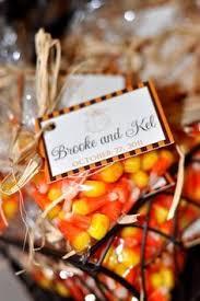 fall wedding favor ideas candy corn wedding favors for an october wedding