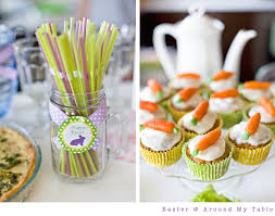 easter around my table