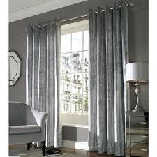 Heavy Grey Curtains Grey Velvet Curtains Luxury Heavy Thick Cut Velvet Silver Pencil