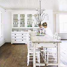 Best Interiors Dining Spaces Images On Pinterest Dining - All white dining room