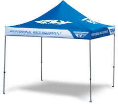 Promotional Canopies by Fly Blue 10 U0027 X 10 U0027 Canopies Fly Racing Motocross Mtb Bmx