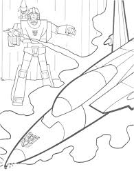 transformers printable coloring pages jet transformers
