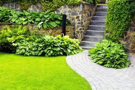 stone path garden wall keystone gardens