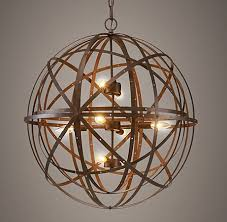 Sphere Ceiling Light Orbital Sphere Pendant L Chandelier Fan Chandeliers And