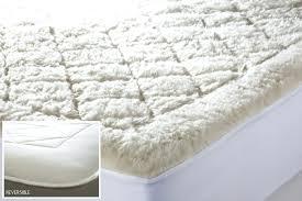 organic mattress topper wool pad twin uk waterproof king