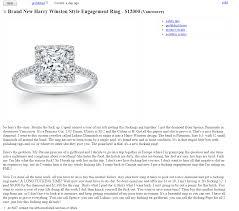 craigslist engagement rings for sale 12 000 engagement ring for sale in vancouver craigslist vancouver