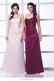 sangria bridesmaid dresses dab11300 pink sangria wedding dress from dzage bridesmaids