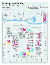 Kansas State Campus Map by News Umkc Parking Update