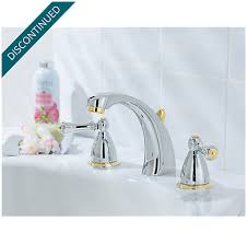 Polished Brass Bathroom Faucets Widespread Polished Chrome Polished Brass Parisa Widespread Bath Faucet