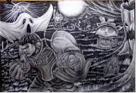 league of legends drawing halloween artwork by danifiras on deviantart