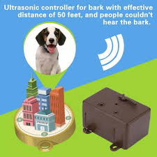 Ultrasonic Stop Control Dogs Barking Anti No Bark Device Silencer