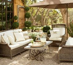 mesmerizing pottery barn outdoor wicker furniture view small home