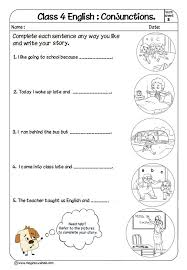 conjunctions for class 4 conjunction examples