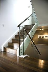 stair railings and banisters clear banister guard best glass stair railing ideas on glass