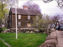 New England Saltbox House New England Travels Adams National Historic Park Quincy