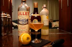 how to host the holidays beyond a golden lillet martini