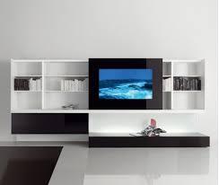 design regalsysteme moderne regalsysteme designs mit eingebauten bildschirmen acerbis