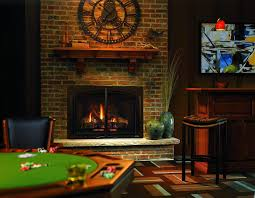 basement game room with gas fireplace cleaning your gas