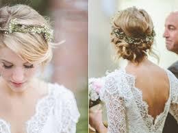 fleurs cheveux mariage les 25 meilleures idées de la catégorie couronnes de fleurs sur