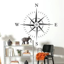 wall decor metal compass rose wall decor 137 innovative earhart