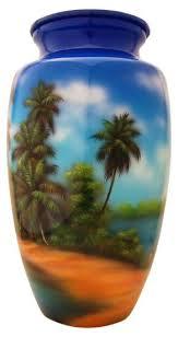 sunset palm tree urn cremation urns international cremation