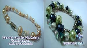 Beaded Jewelry Making - how to make elegant beaded jewelry business seminars by
