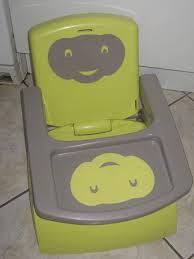 rehausseur de chaise thermobaby réhausseur de chaise thermobaby babytop vert kiwi et gris aukazoo