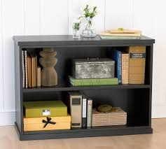 black two shelf bookcase black two shelf bookcase contemporary bedford 2 pottery barn
