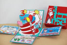 dr seuss birthday invitations dr seuss birthday box invitations jinkys crafts