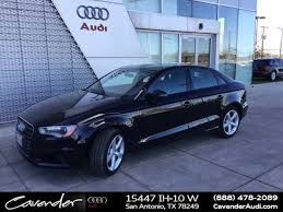 cavender audi service used 2016 audi a3 for sale in san antonio tx near alamo heights