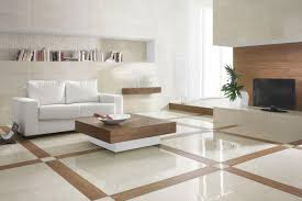 living room tile floor ideas interior fancy design ideas using brown tile floor and rounded