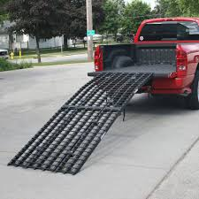 Ford F150 Truck Ramps - black widow 4 beam arched motorcycle ramps 10 u0027 and 12 u0027 long