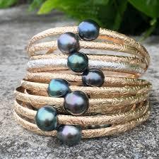 bangle bracelet with pearl images Hawaiian heirloom bangle bracelet aloha bangles jpg