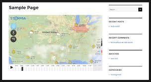 Radar Weather Map Stormia U2013 Live Weather Radar U2014 Wordpress Plugins