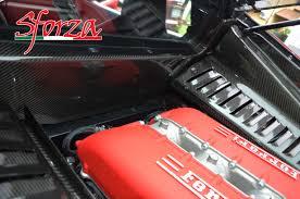 replica ferrari 458 italia ferrari f458 italia accessori fibra di carbonio vano motore