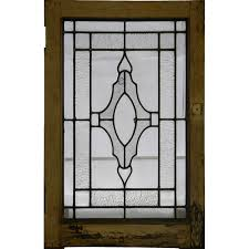 Antique Stained Glass Door by Antique Stained Glass