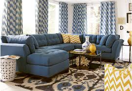 Living Room Sectional Sofas Sale Home Metropolis Indigo 4 Pc Sectional Living Room