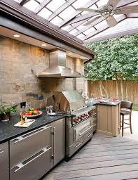 meuble cuisine exterieur inox cuisine extérieure sur la terrasse inspirez vous par nos idées