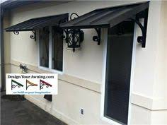 Metal Awnings For Front Doors Nice Simple Easy Fix For That No Cover No Porch Overhang The