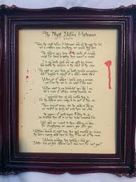 Old Halloween Poems The Witch Themed Party