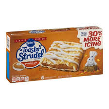 Toaster Strudle Pillsbury Toaster Strudel Limited Edition Pumpkin Pie Toaster