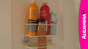how to organize the shower in your bathroom youtube