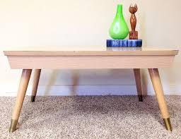 vintage mid century modern coffee table vintage mid century modern coffee table small end side table blonde