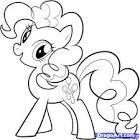 How to Draw Pinkie Pie, My Little Pony, Pinkie Pie, Step by Step ...