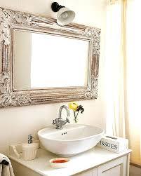 Brushed Nickel Bathroom Mirror by Framed Vanity Mirrors U2013 Amlvideo Com
