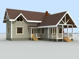 House Drawings Autocad 3d Cad Model Grabcad Autocad 3d House Plans