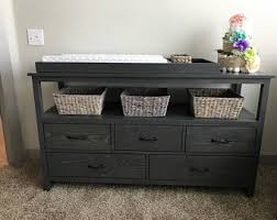 Detachable Changing Table Changing Table Dresser Etsy