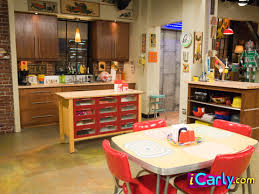 Icarly Bedroom Furniture by Carly And Spencer U0027s Kitchen Http Www Icarly Com Icarly