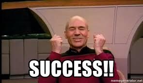 Jean Luc Picard Meme Generator - success jean luc picard full of win no text meme generator