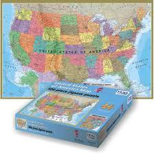 usa map jigsaw level five usa map jigsaw puzzle puzzlewarehousecom 25 pieces usa map jigsaw